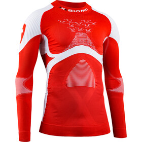 X-Bionic Energy Accumulator 4.0 Patriot Camiseta Manga Larga Cuello Tortuga Hombre, switzerland